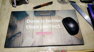 Mousepad home made