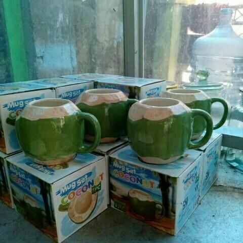 Mug Cantik Coconut