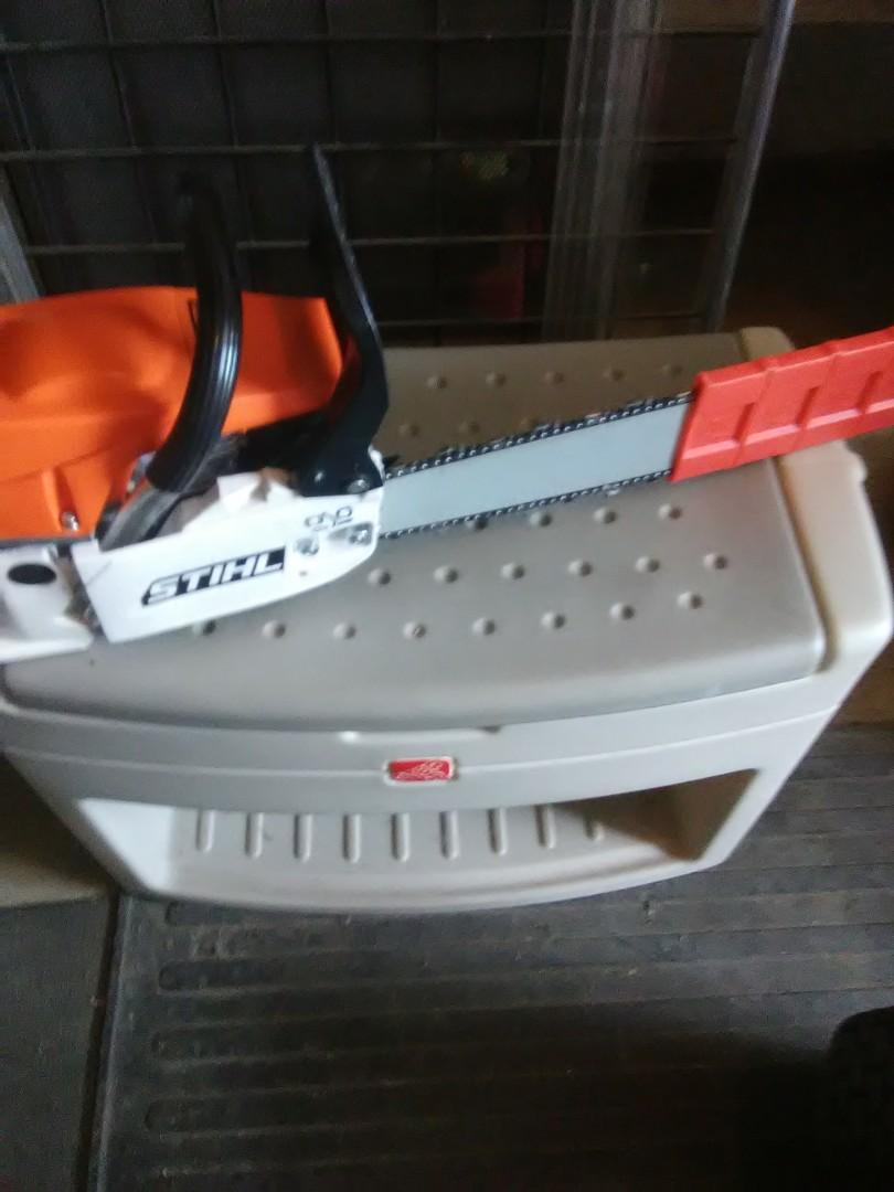 New pro 60cc.gas 20 in.chainsaw