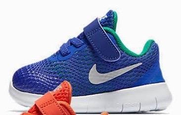 Nike Free Run Baby - Blue Green