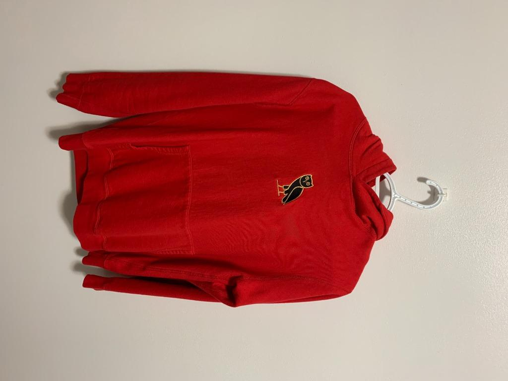 OVO - Octobers Very Own Red Pullover HOODIE