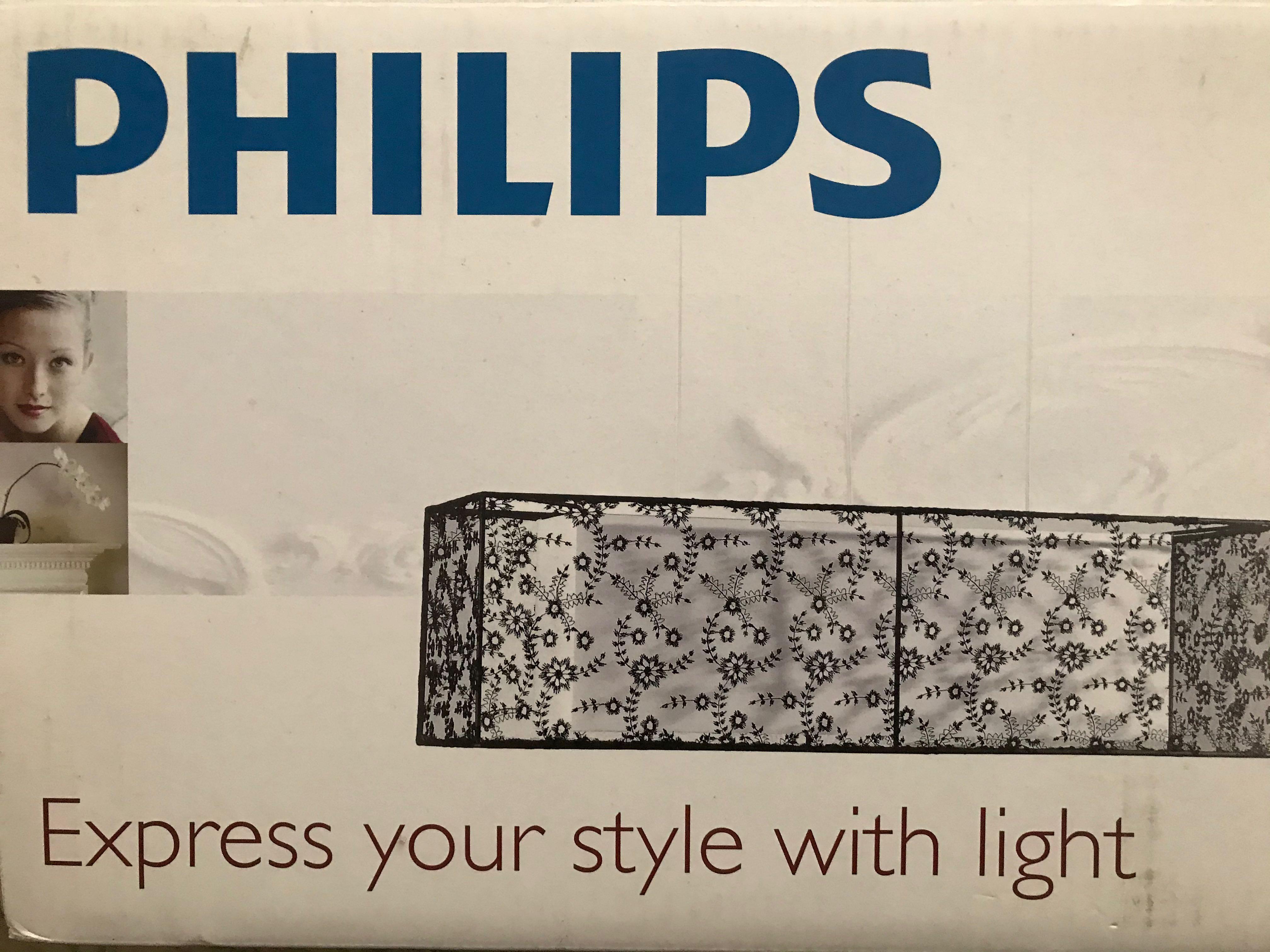 Philips 飛利浦吊燈 -古典風格~QPG321~黑色~飛利浦餐吊燈