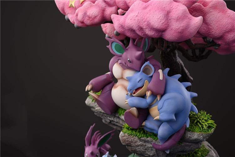 [PRE-ORDER]37 LAB - NIDOKING AND NIDOQUEEN STATUE FIGURE
