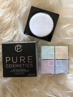 Pure cosmetics loose powder