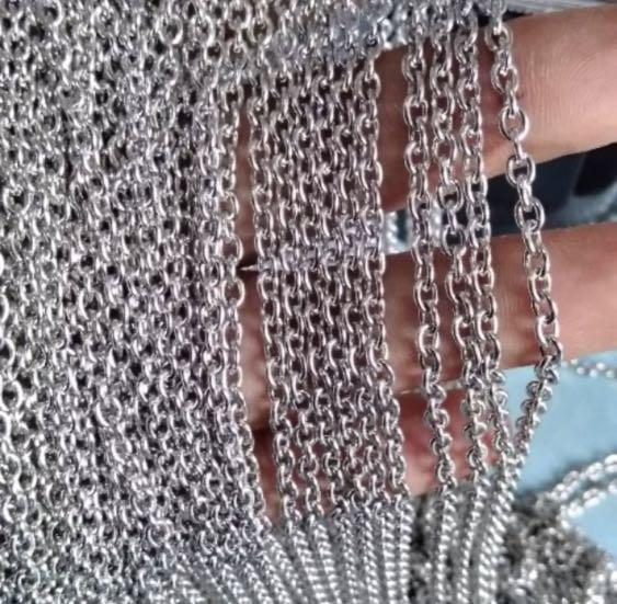 Rantai baja uk 0,7 /meter Stainless Steel Anti Karat