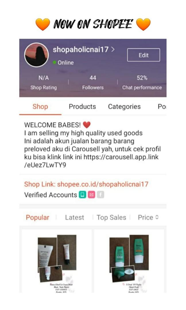 SHOPEE by request