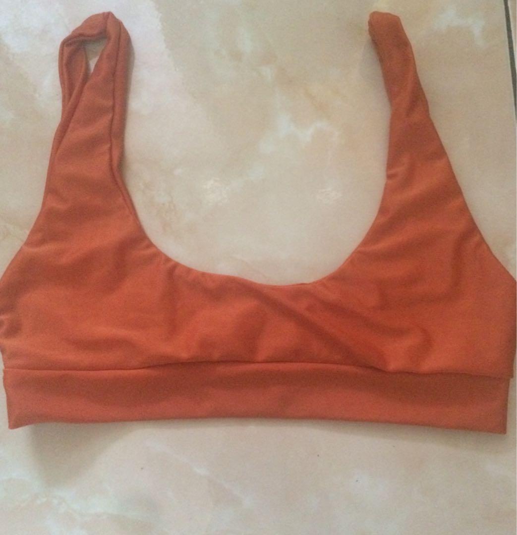 Sport Bra Orange