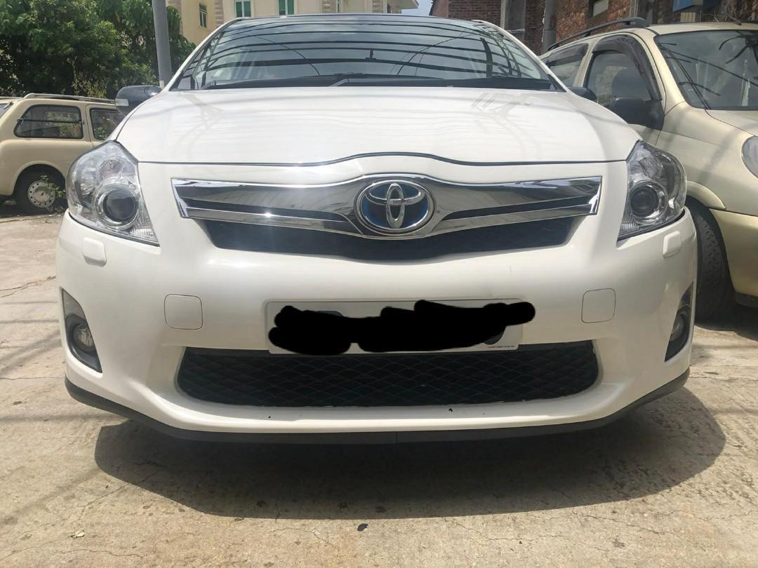 Toyota Auris Toyota auris hybrid Auto