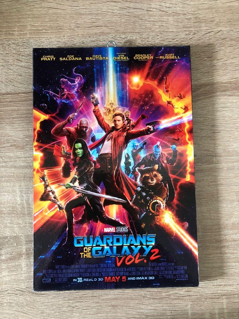 Walldecor Frame Guardians Of the Galaxy 2