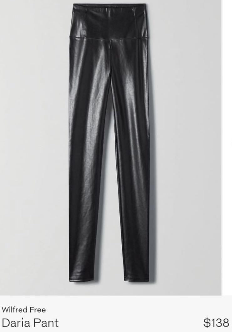 Wilfred DARIA leather pants