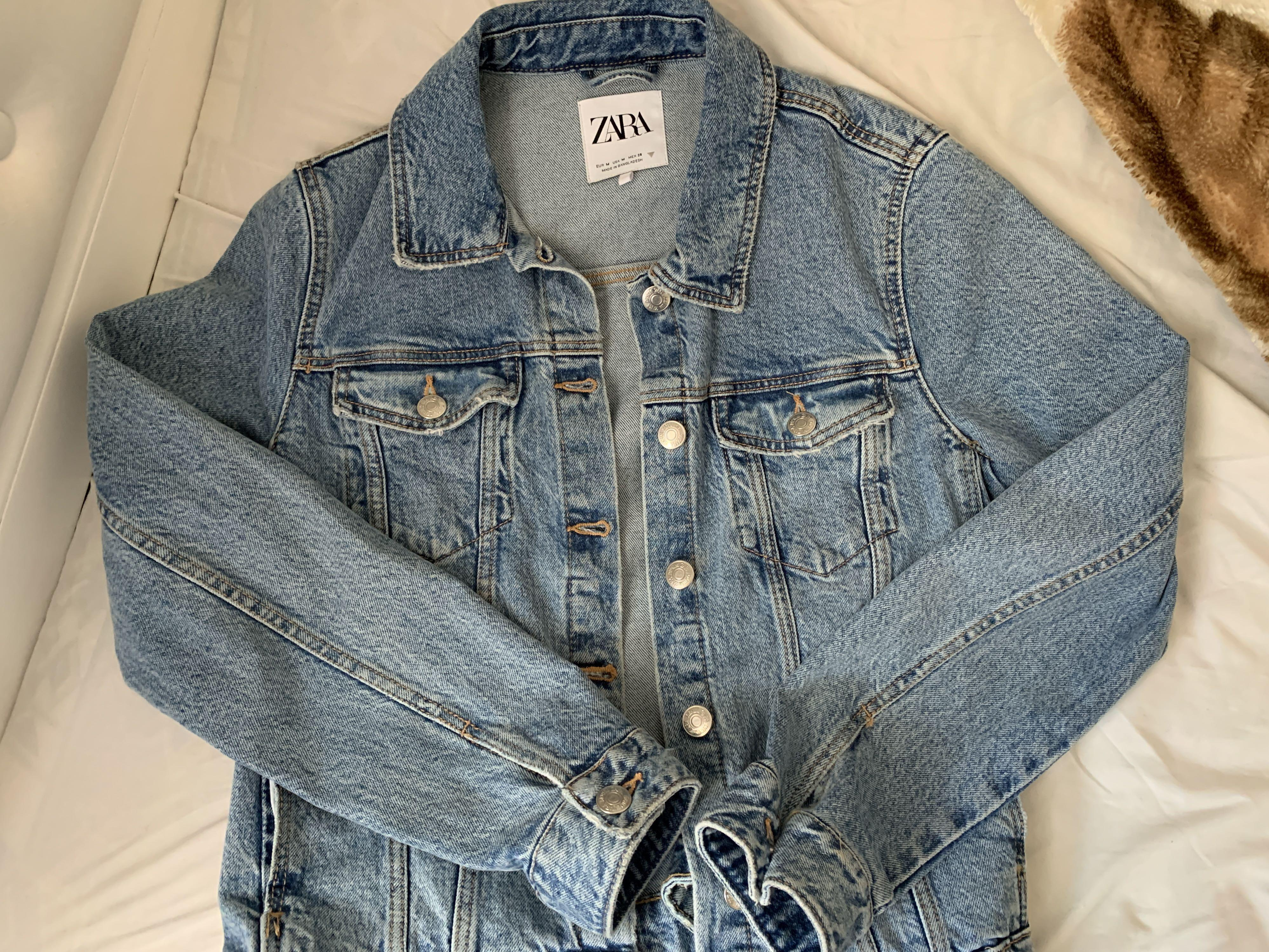 Zara jean jacket size M