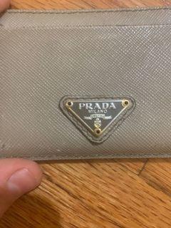 100% authentic Prada card holder
