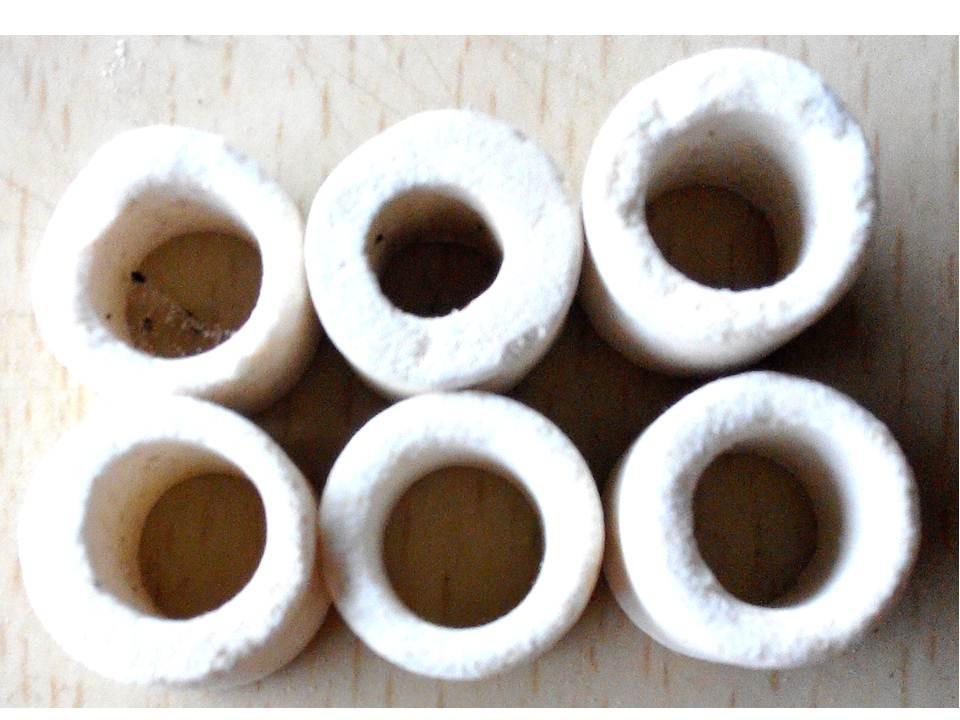 多孔陶瓷環 12mm 陶瓷杯 多孔性 陶瓷環 呼吸生物環 淨水 細菌屋 過濾 培菌