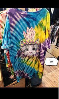 泰國代購 渲染貓咪上衣