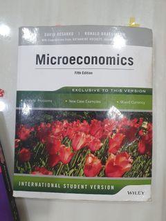 東吳大學 個體經濟學Microeconomics Fifth Edition