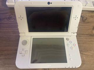 ALMOST NEW NINTENDO 3DS XL PEARL WHITE
