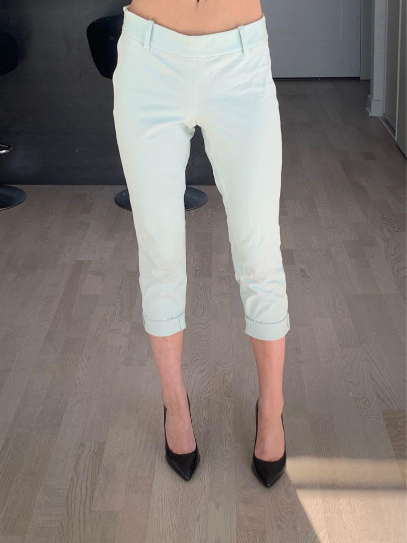 Aritzia Babaton Cropped Pant Size 0