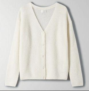 ARITZIA FRONT TO BACK CARDIGAN