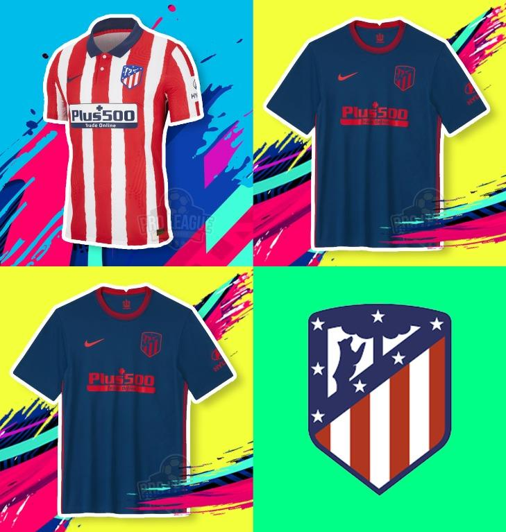 Atletico Madrid Jersey 2020 21 Sports Sports Apparel On Carousell