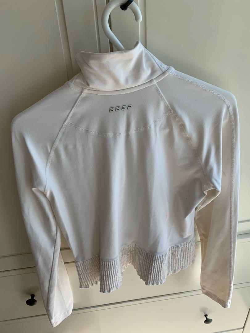 Bebe Sport Jacket / Sweater Top Size Small