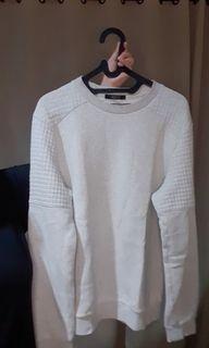 Beige Korean Crewneck Sweater