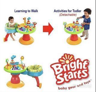 Bright starts Around we go walker