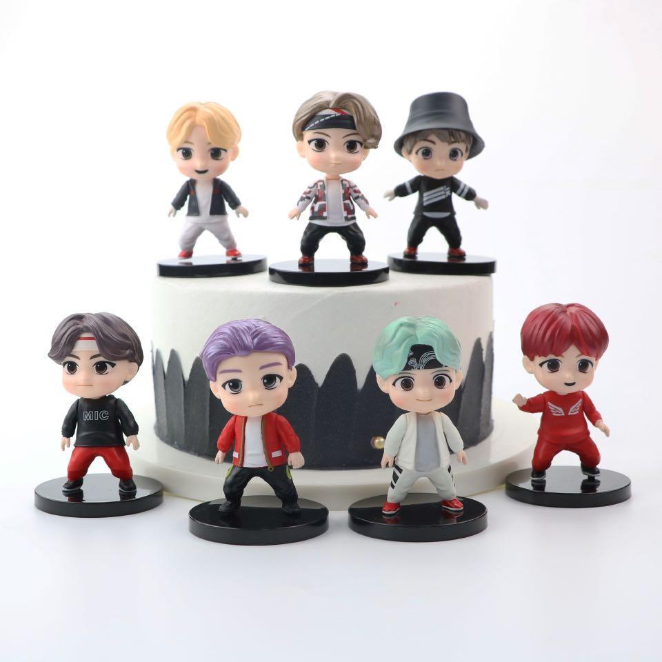 kpop group figurines