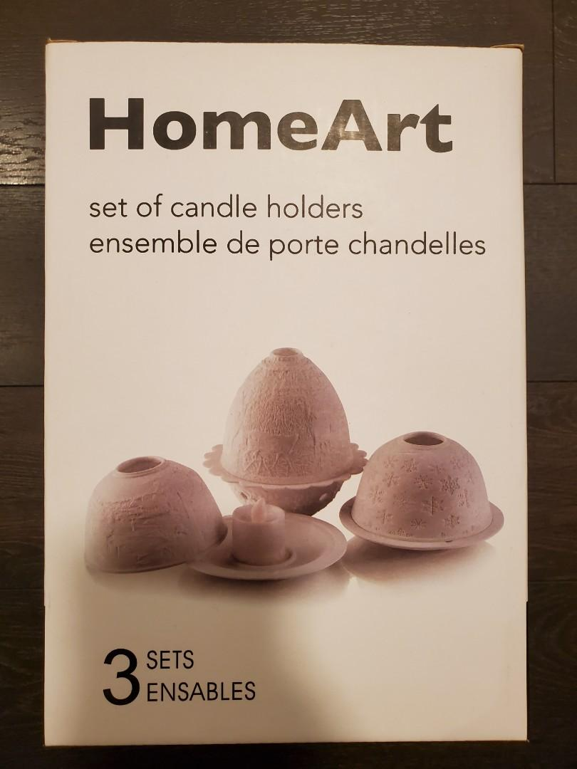 Candle Holders - New