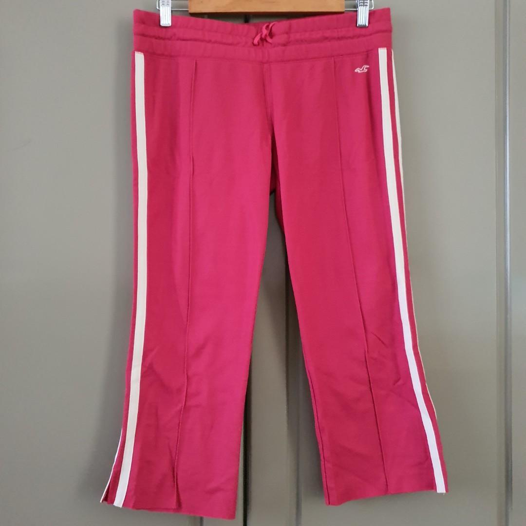 Celana sport Hollister (asli) warna Pink size L
