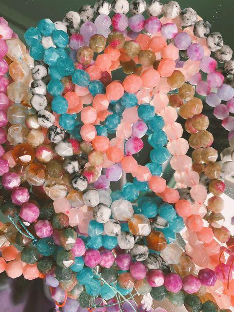 gelang batu martapura lucu bisa custom warna dan jenis!!