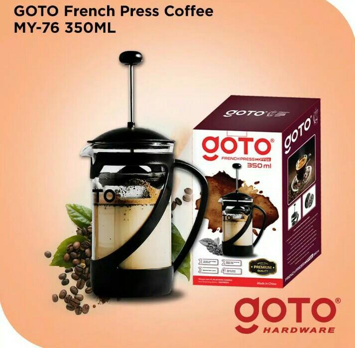 Goto French Press Coffee MY-76 350 ML Coffee Maker Tea Plunger