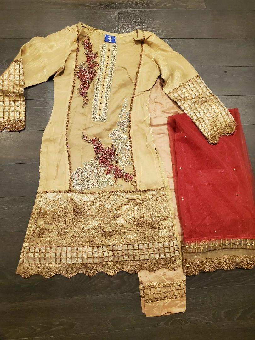 Indian/ Pakistani Dress - Size: XS
