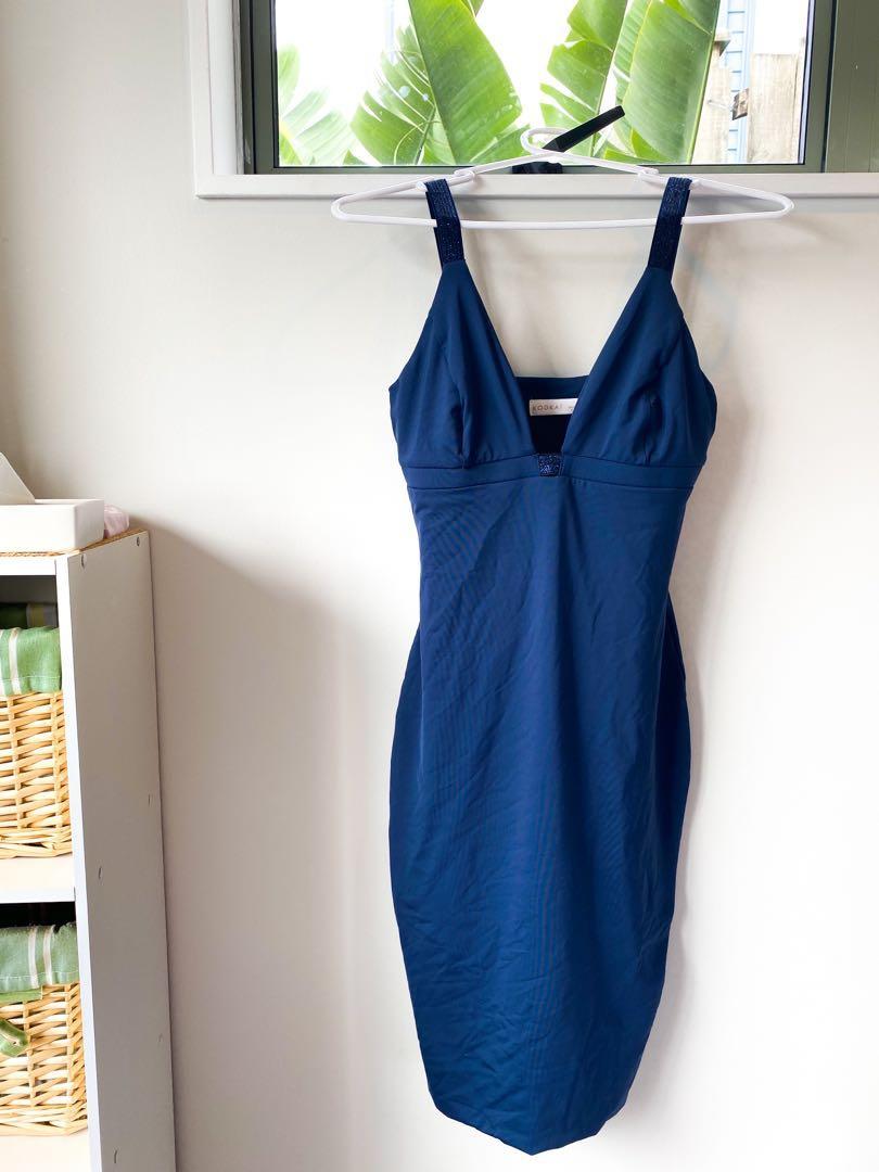 KOOKAI BLUE BODYCON DRESS
