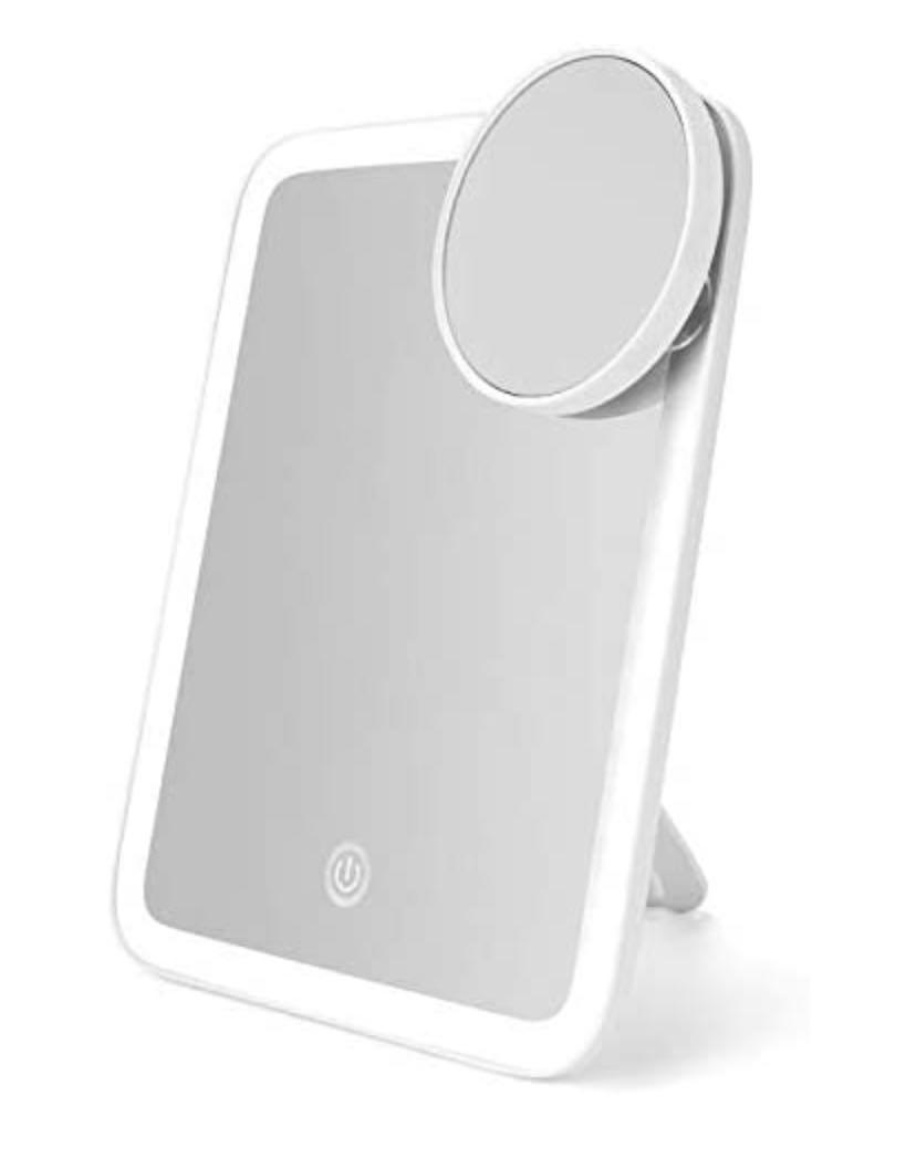LED Makeup Mirror, Portable Vanity Mirror with Lights