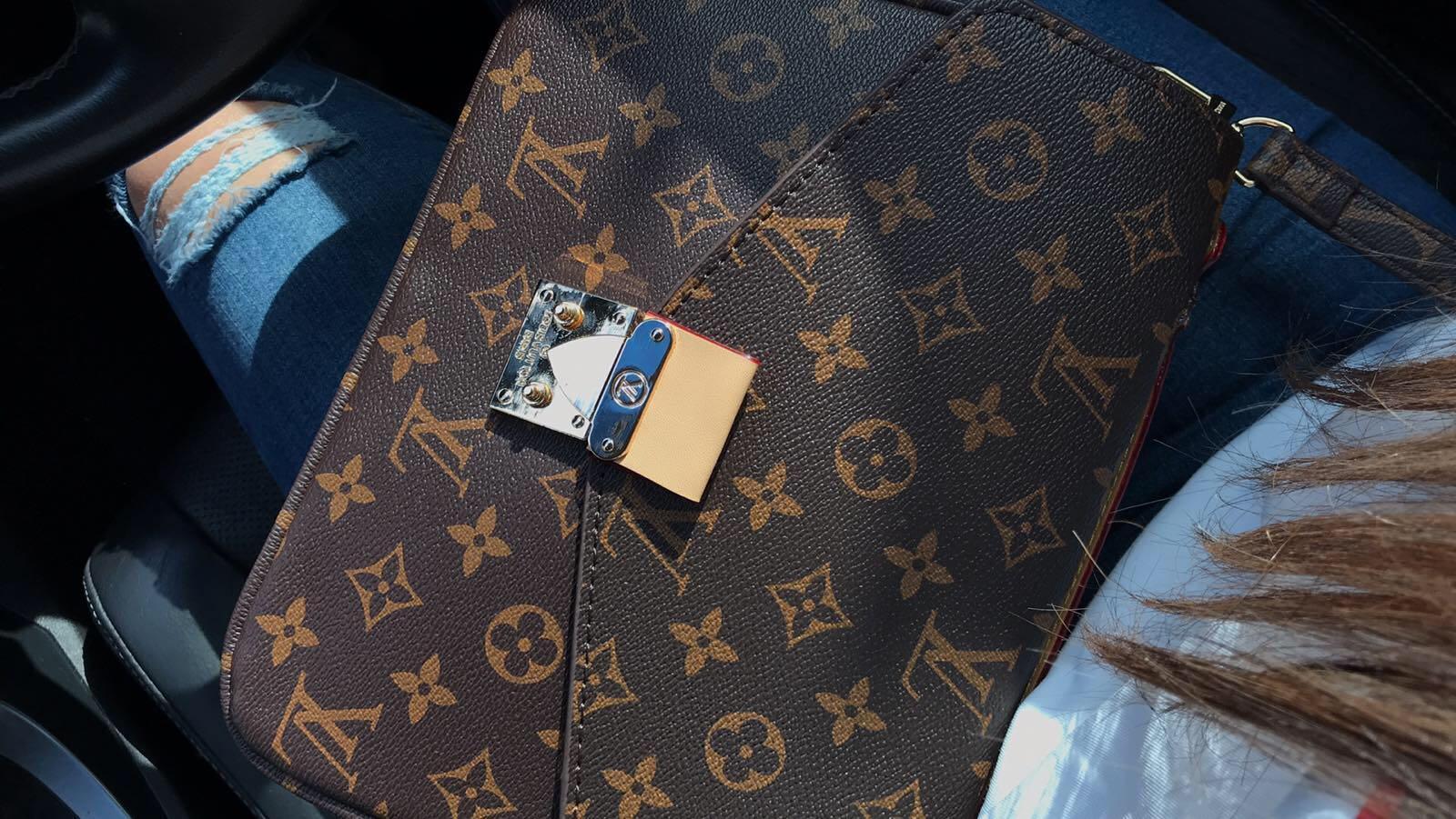 LV crossbody bag (high end rep)