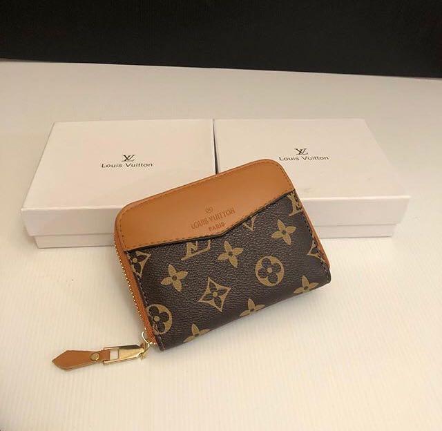 LV Zipper Mini Wallet