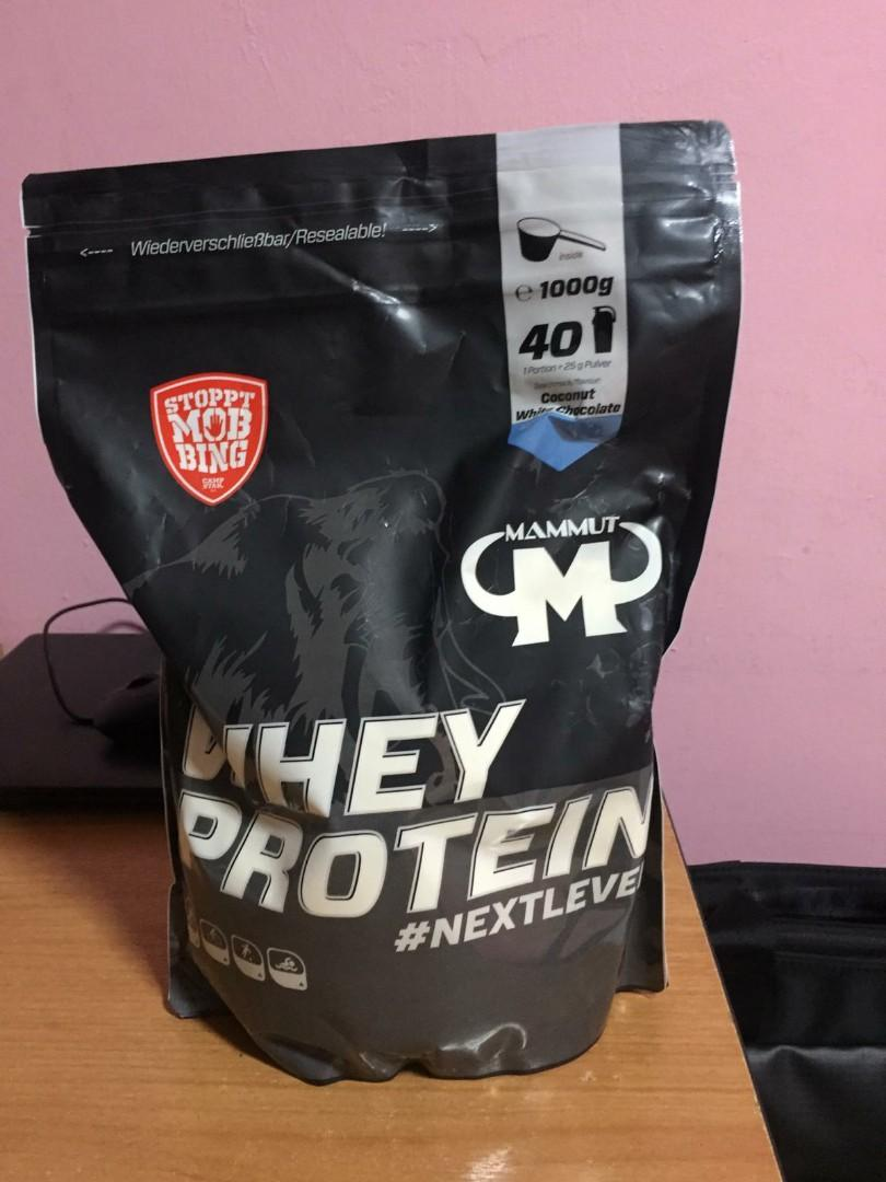 Mammut Protein Powder 1kg Food Drinks Packaged Snacks On Carousell