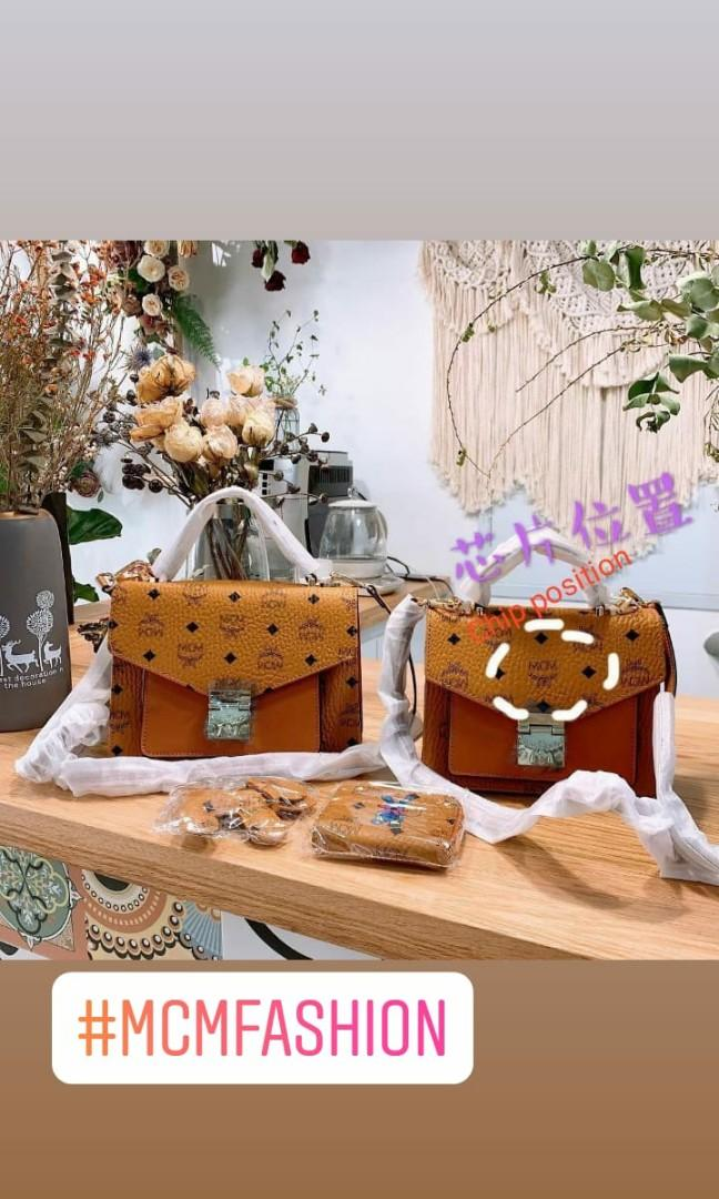 MCM fashion bags style