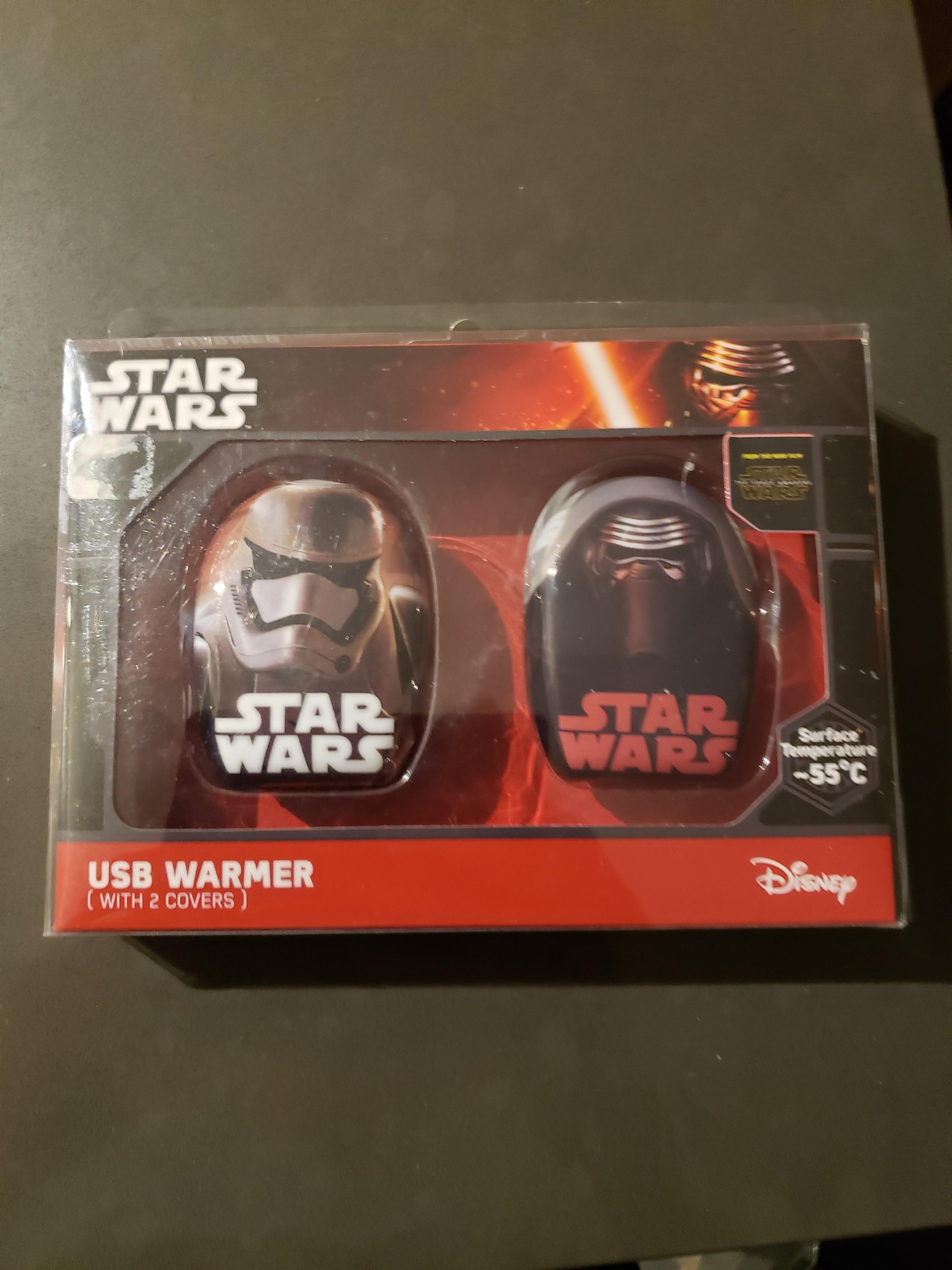 Star Wars Double Pack Kylo Ren and Stormtrooper Hand Warmer