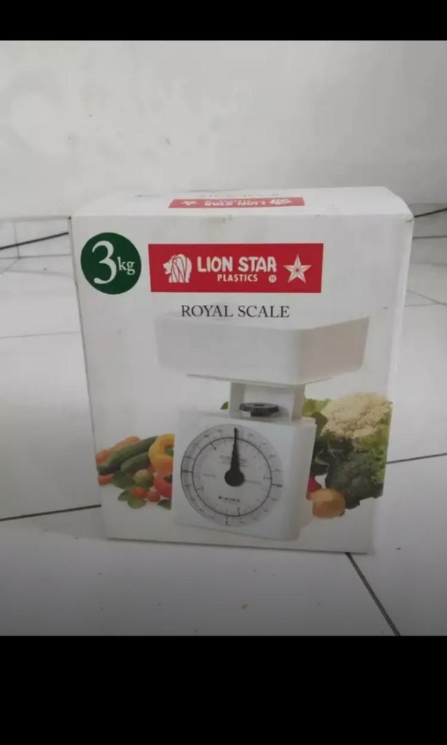 Timbangan Lion Star Royal Scale 3kg
