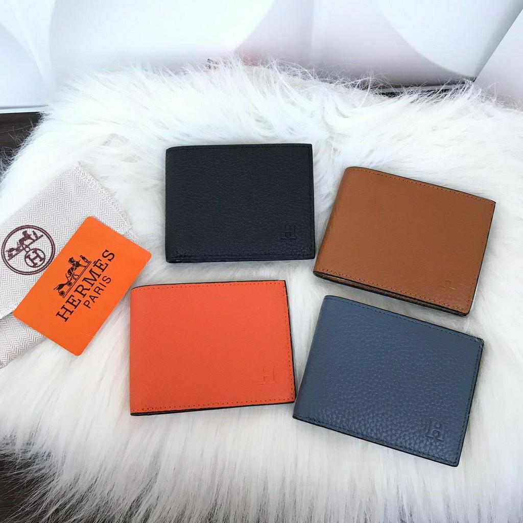 wallet leather herme