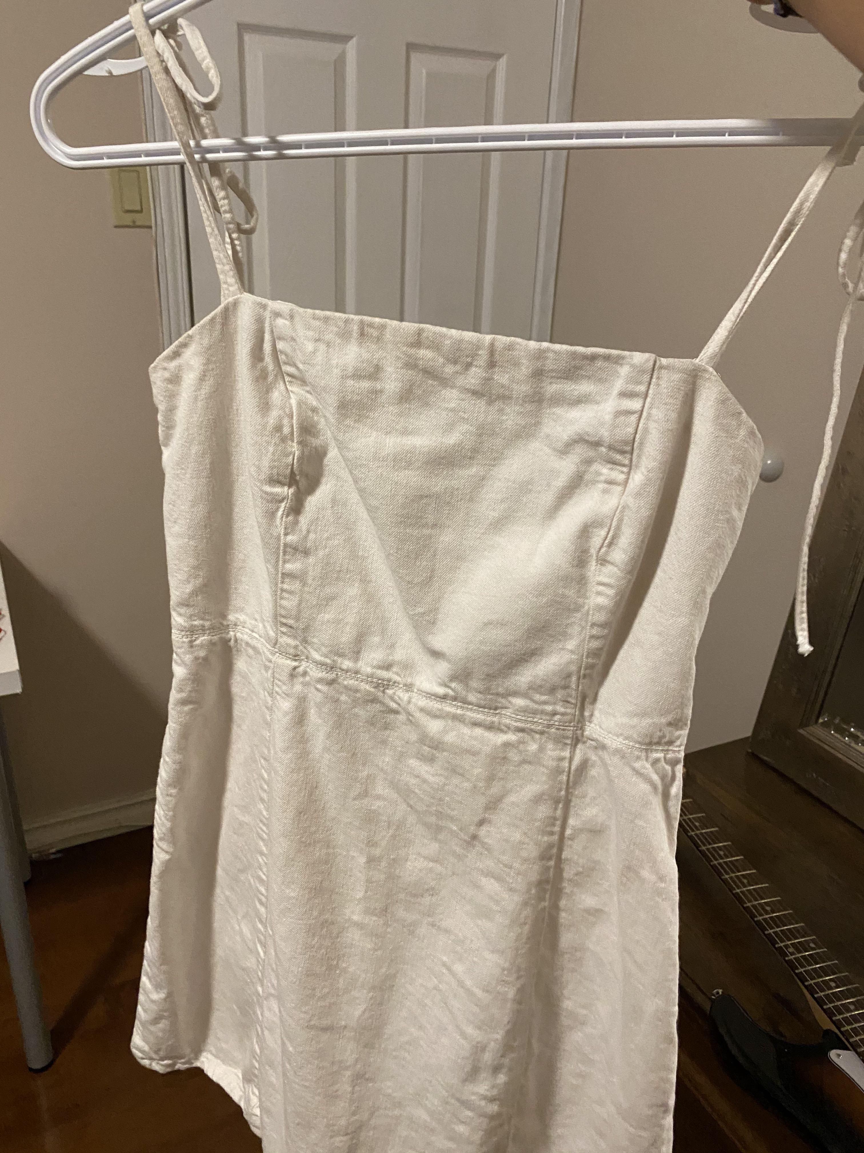 White Zara Dress XS