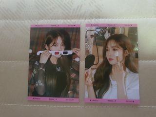 WTT  Fromis_9 Jisun minicards