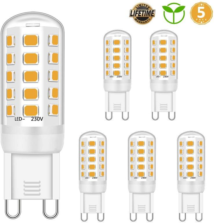 1d 1006 New G9 Led Bulb Dimmable 4w Equivalent To 28w 30w 40w Halogen Bulbs
