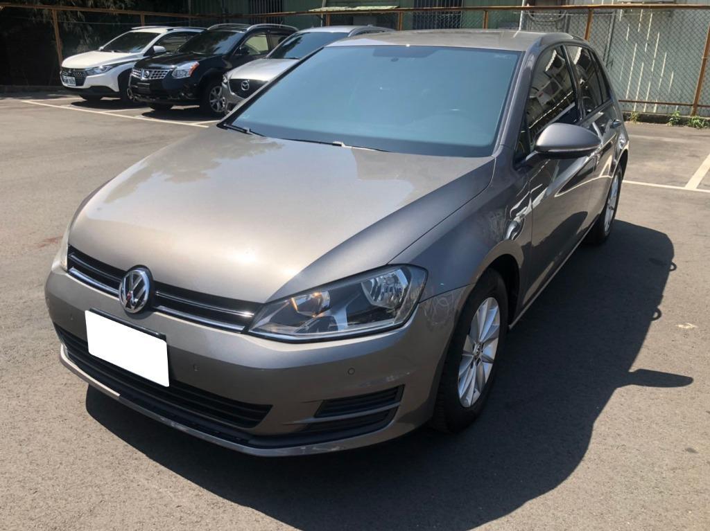 2016年Volkswagen VW福斯 Golf TSI 灰5.3