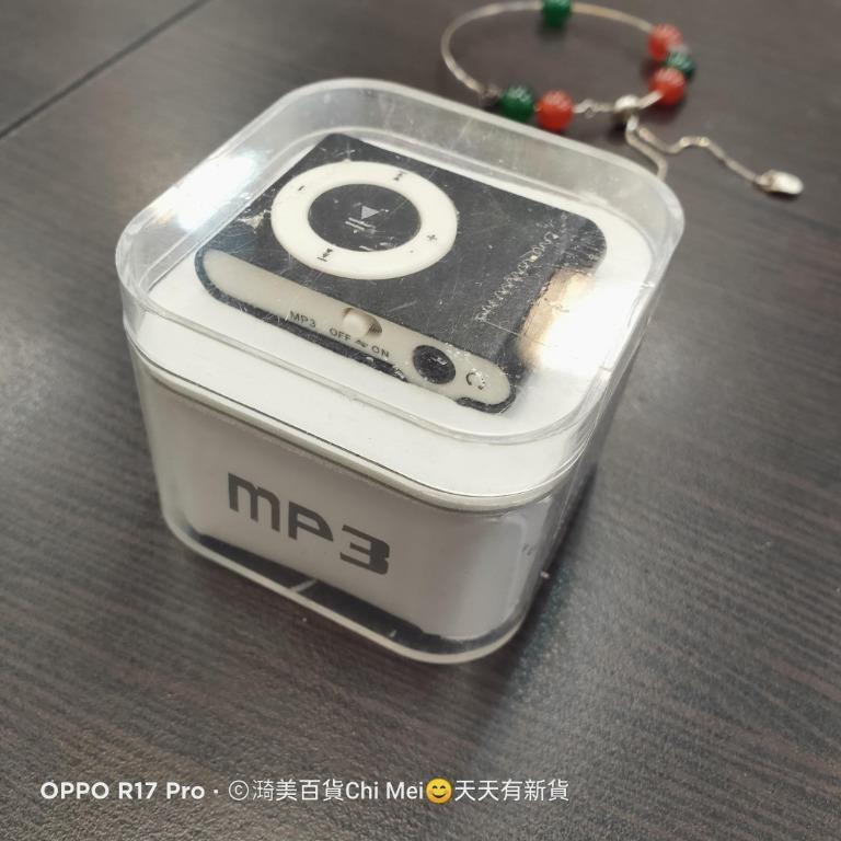209*全新MP3 PLAY隨身體第六代蘋果夾子機 microSD插卡式 MP3隨身