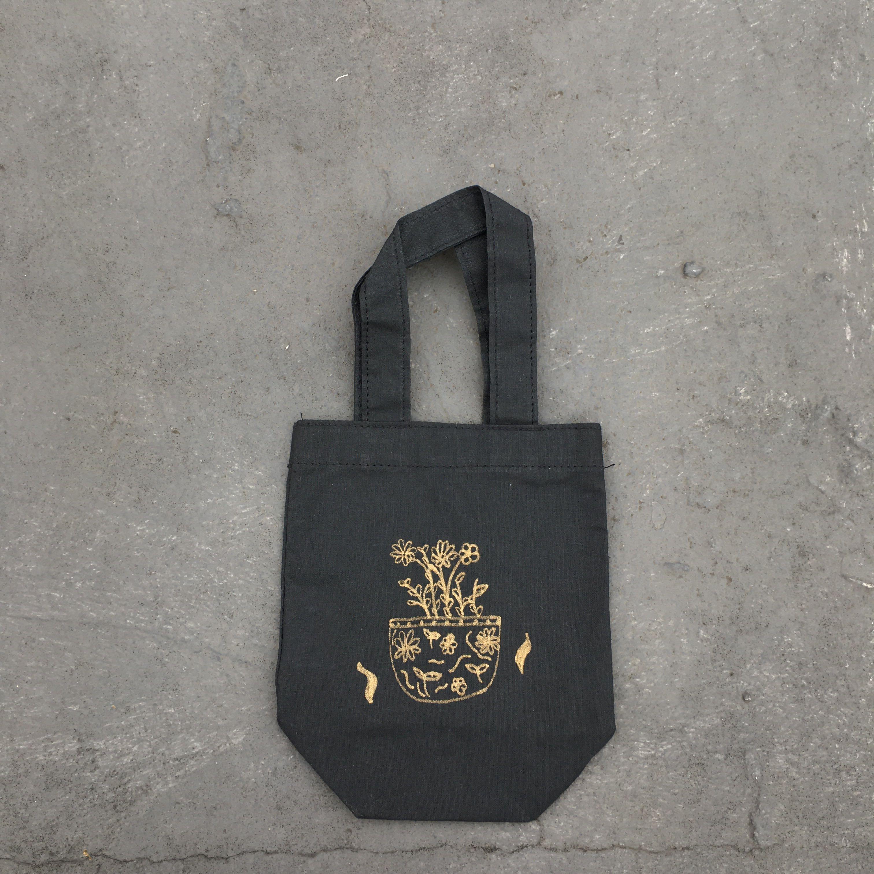 手繪▸花盆◂飲料袋