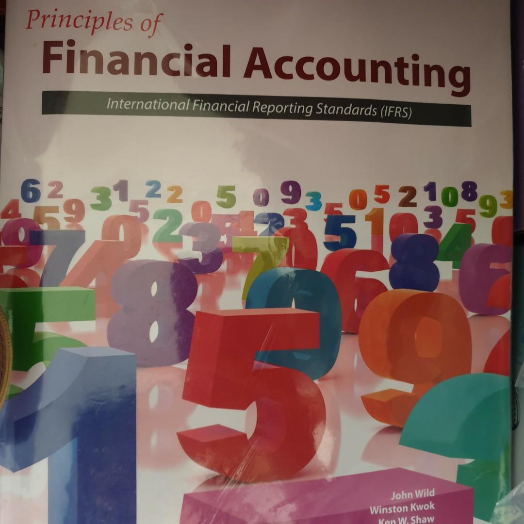 #開學季 會計原文書 Financial accounting