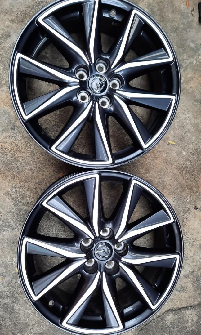 馬自達 Mazda Cx5 cx3  19吋原廠鋁圈 可以單買