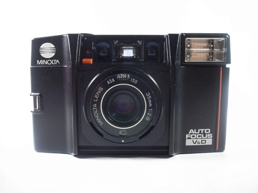 [一直攝] Minolta AF-Sv 底片相機 (會說話的相機)